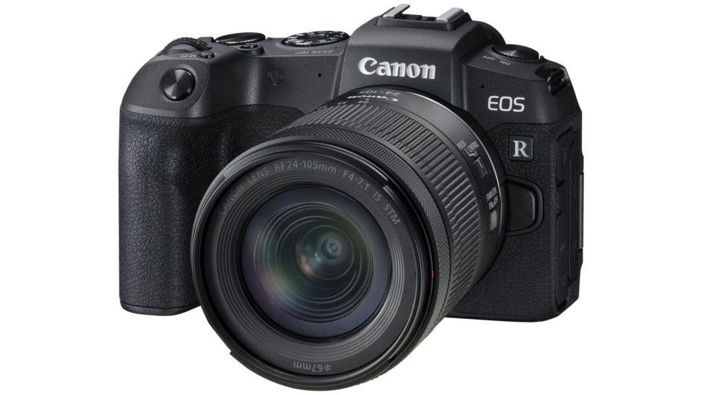 canon eos rp mirrorless camera