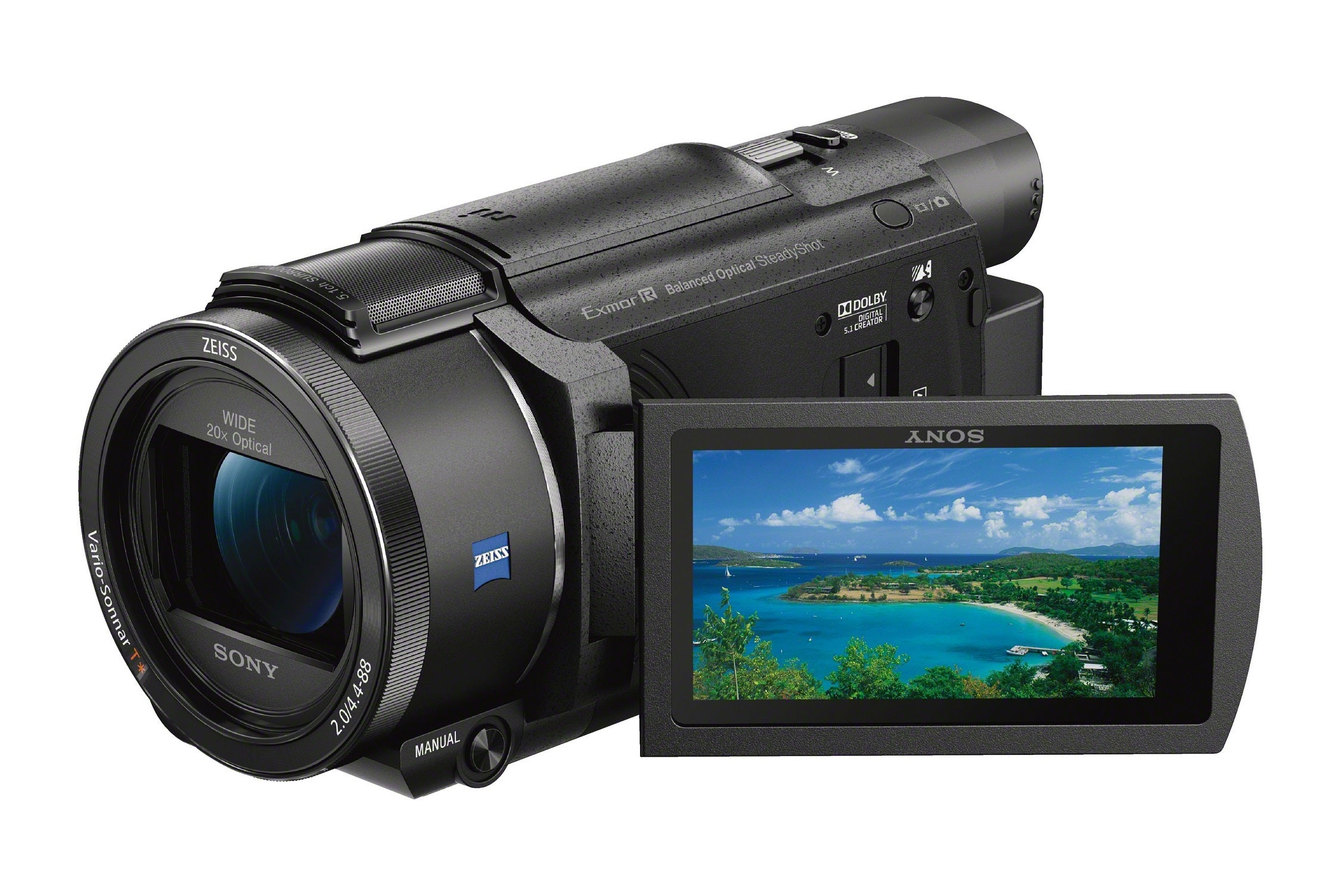 Sony_FDR-AX53_4k_Digital_Video_Camera_BK_FL