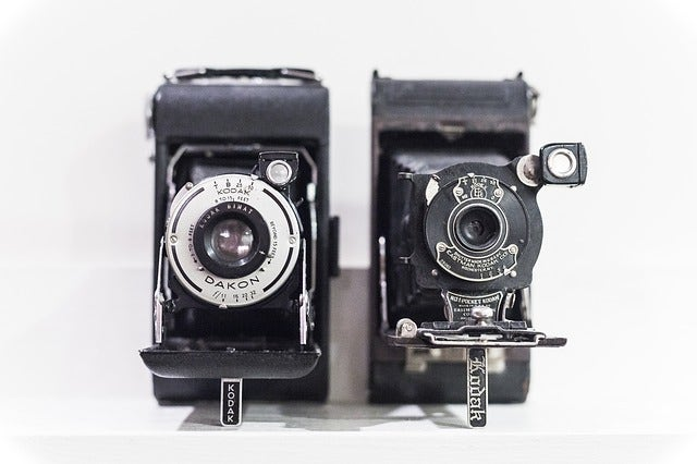Early Kodak Cameras