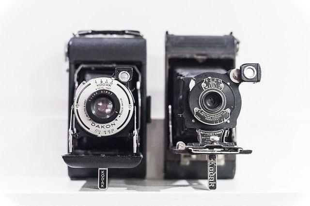 Early Kodak Cameras