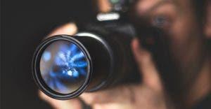 reflection-on-dslr-lens