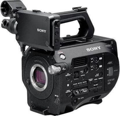 sony fs7 high frame rate camera