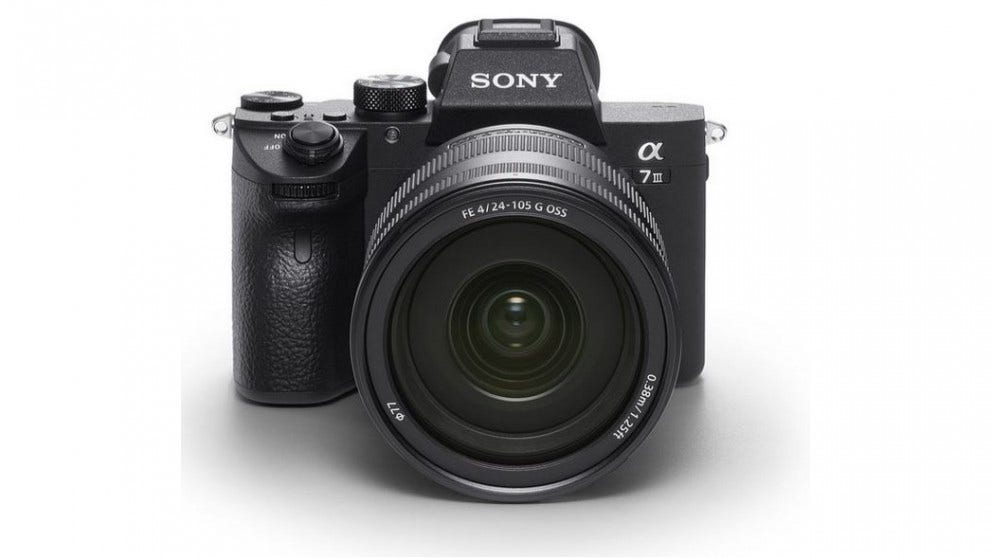 sony a7 mark iii mirrorless camera
