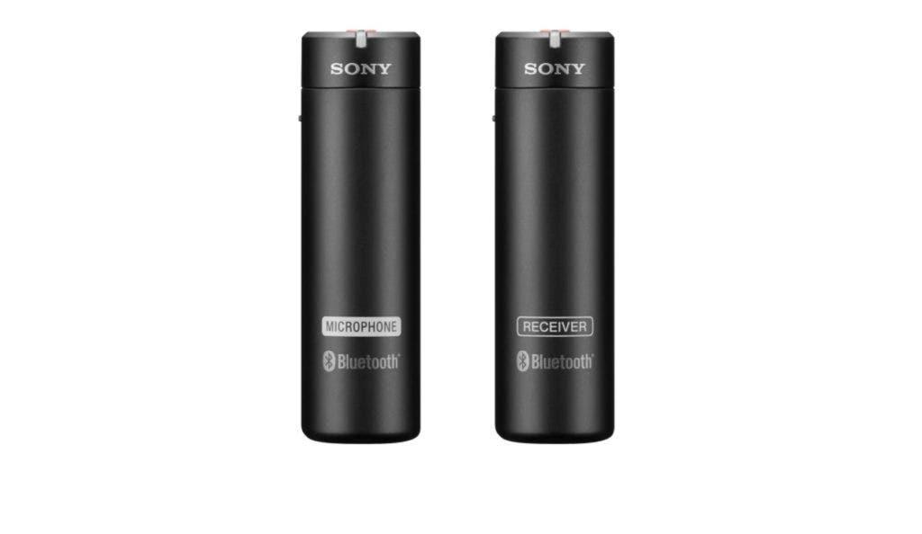 Sony ECM AW4 wireless microphone system