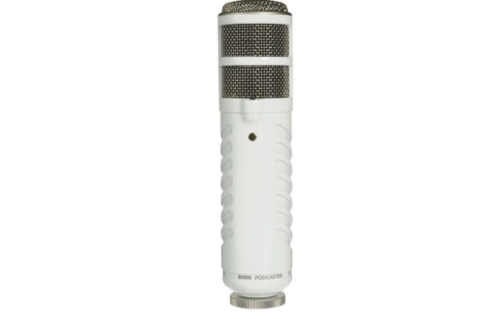 RODE podcaster microphone for podcasts