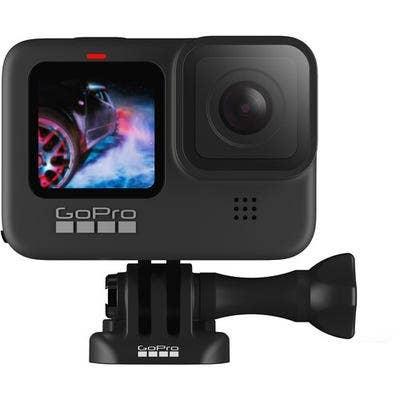 GoPro HERO9 Black w/BONUS SP Gadgets POV Case & Knog LED Waterproof Light