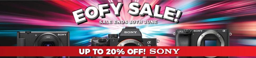 Sony EOFY | Camera House