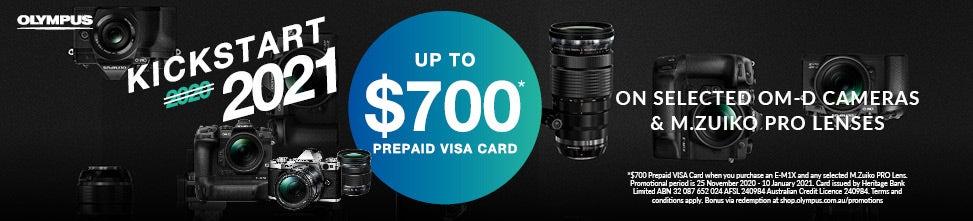 Olympus Visa Card | Camera House