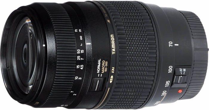 Tamron AF 70-300mm f/4-5.6 Di LD Lens - Canon