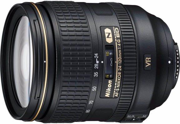 Nikon AF-S 24-120mm f/4G ED VR Lens