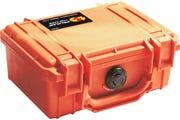 Pelican 1120 Orange Case with Foam