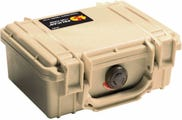 Pelican 1120 Desert Tan Case with Foam