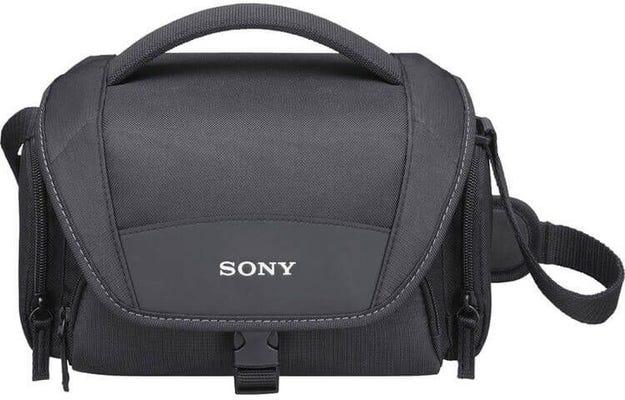 Sony LCSU21 Black Carry Case