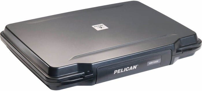 "Pelican 15"" Black Laptop Hardback Case with Foam"