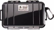 Pelican 1040 Micro Case - Black with Black Liner