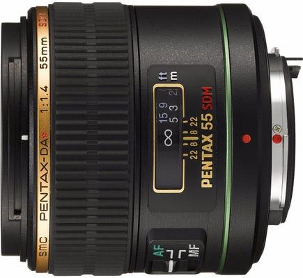 Pentax DA 55mm f/1.4 ED IF SDM Lens
