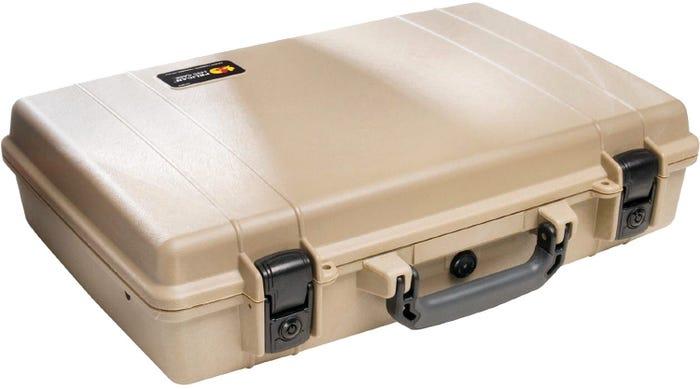 Pelican 1490 Desert Tan Deluxe Computer Case