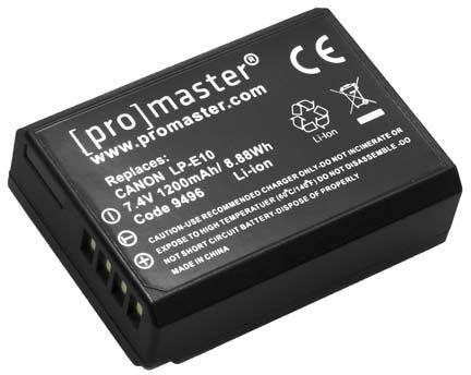 ProMaster Canon LP-E10 Battery