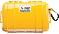 Pelican 1040 Micro Case - Yellow with Black Liner