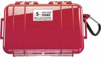 Pelican 1040 Micro Case - Red with Black Liner