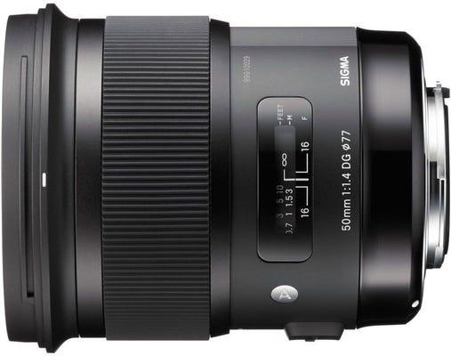 Sigma 50mm f/1.4 DG HSM Art Series Lens - Nikon