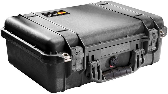 Pelican 1500 EMS Black Case