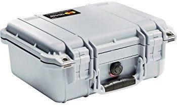 Pelican 1400 Silver Case