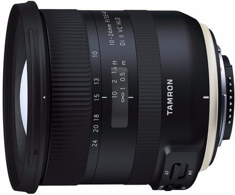 Tamron SP 10-24mm f/3.5-4.5 Di II VC HLD Lens - Nikon