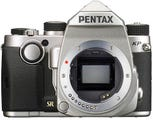 Pentax K-P Silver Body Digital SLR Camera