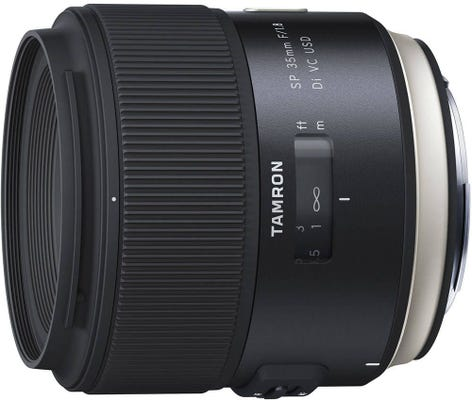Tamron SP AF 35mm f/1.8 Di VC USD Lens - Canon