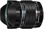 Olympus M.Zuiko Pro 8mm f/1.8 Fisheye Lens Black