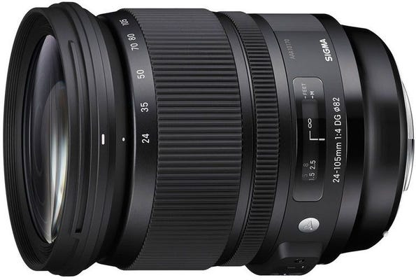 Sigma 24-105mm f/4 DG OS HSM Art Series Lens - Canon