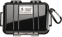 Pelican 1020 Micro Case - Black with Black Liner