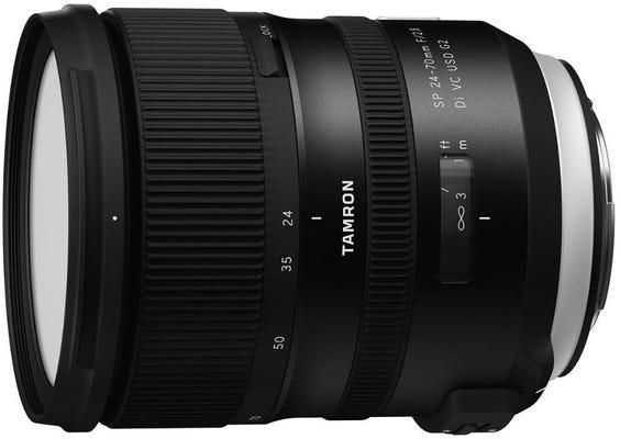 Tamron SP 24-70mm f/2.8 Di VC USD G2 Lens - Canon