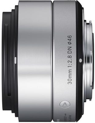 Sigma 30mm f/2.8 DN Silver Art Series Lens - Micro Four Thirds