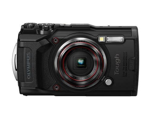 Olympus TG-6 Black Digital Compact Camera