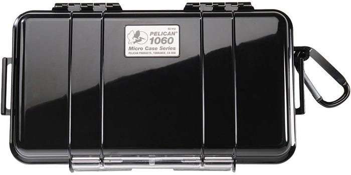Pelican 1060 Micro Black Case with Black Liner