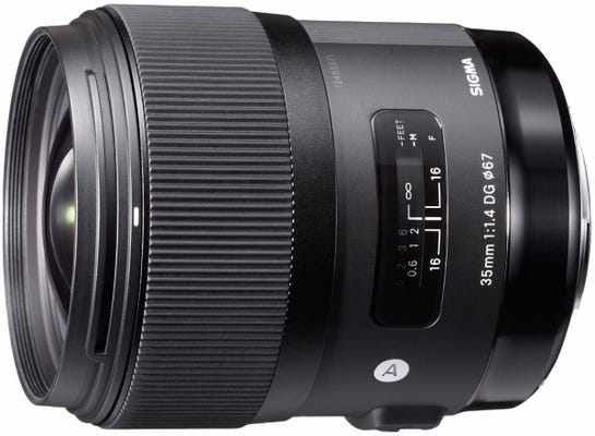 Sigma 35mm f/1.4 DG HSM Art Series Lens - Pentax