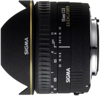 Sigma 15mm f/2.8 EX DG Diagonal Fisheye Lens - Canon