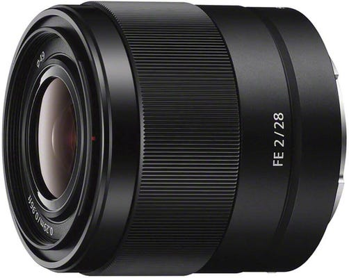 Sony 28mm f/2 Wide Angle Lens