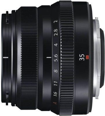 Fujifilm XF 35mm f/2 R WR Black Lens