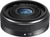 Panasonic Lumix G 14mm f2.5 ASPH II - Black Lens