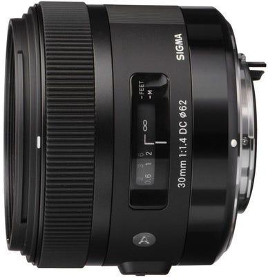 Sigma 30mm f/1.4 DC HSM Art Series Lens - Pentax