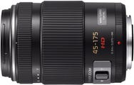 Panasonic Lumix G X Vario 45-175mm f/4-5.6 ASPH Power Zoom - Black Lens