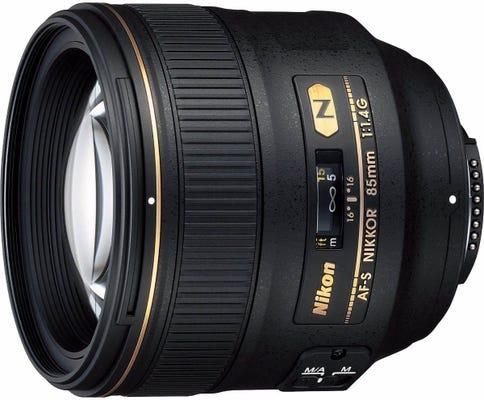 Nikon AF-S 85mm f/1.4G Telephoto Lens