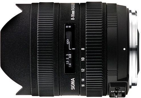 Sigma 8-16mm f/4.5-5.6 DC HSM  Lens - Canon