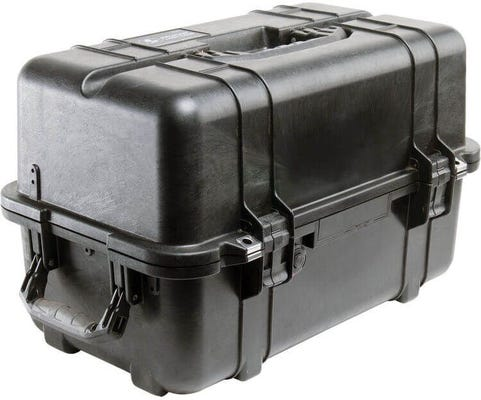 Pelican 1460 Black Case - No Foam