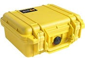 Pelican 1200 Yellow Case