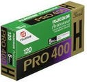 Fujifilm PRO 400H 120 Roll (5 Pack) - Colour Negative Film