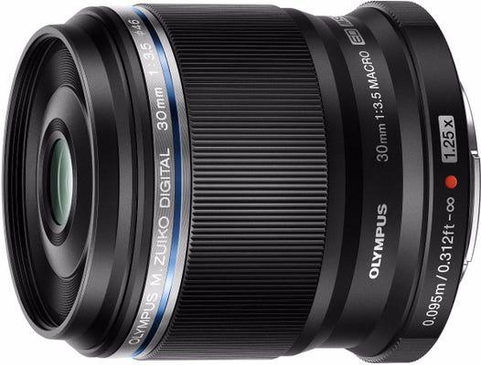 Olympus 30mm f/3.5 Black Macro Lens